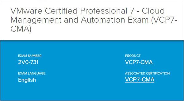 2V0-731試験